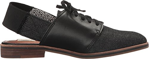 Denim Ellen Lavanah Womens Leather DeGeneres Black ED dcXqwP68x6