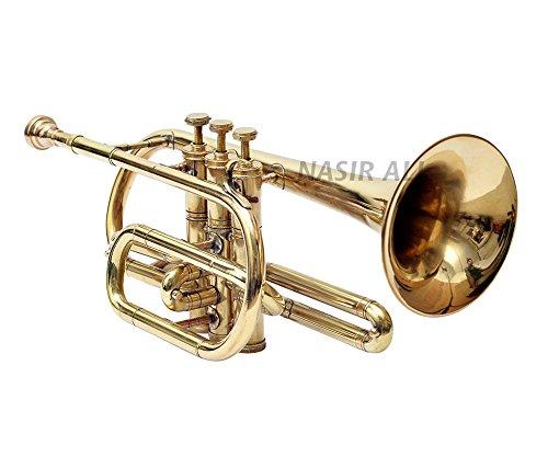 Nasir Ali Co-01, Cornet, Bb, Brass by NASIR ALI