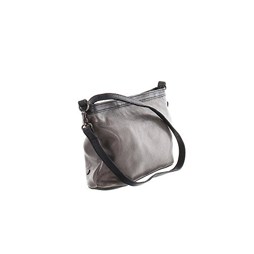 Another Bag, Borsa a tracolla donna grigio Grau