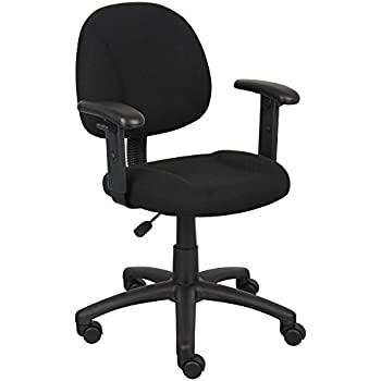 Amazoncom Boss Office Products B316 BK Perfect Posture Delux