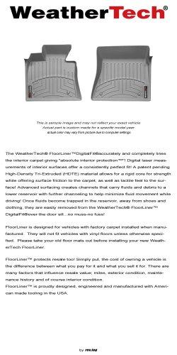 2012 - 2014 Dodge Ram 2500 / 3500 - WeatherTech - FloorLiner - Front ()