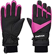 SNOTEK Kids Winter Gloves for Ski, Snowboarding, Snowmobiling