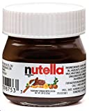 Nutella Hazelnut Spread with Cocoa Glass Jar, .88