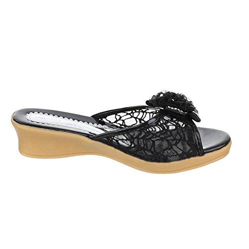 Kinder Schuhe C1 SANDALEN igfh PANTOLETTEN Schwarz igfh SANDALEN inklusionstagung  607ae6
