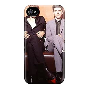 Shockproof Hard Phone Case For Iphone 4/4s With Allow Personal Design HD Franz Ferdinand Band Pictures SherriFakhry