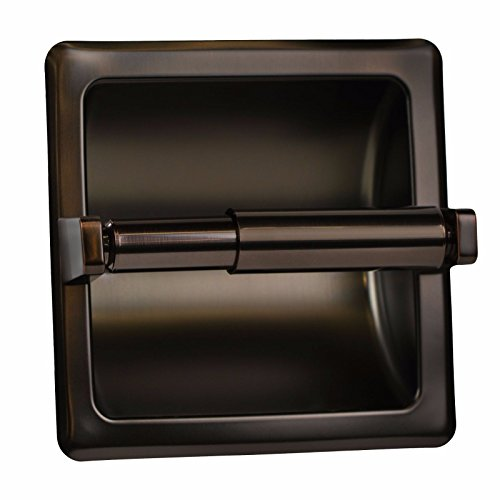 Modern Bronze Matching Recessed Oil Rubbed Stainless Steel Toilet Paper Holder Great For Your Home Ofiice - List Sunshine Hamilton