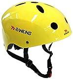 RANKING BMX Bike Cycling Helmet Yellow M