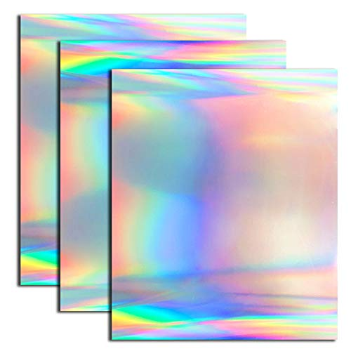 Holographic Heat Transfer Foil Vinyl HTV for T-Shirt 12