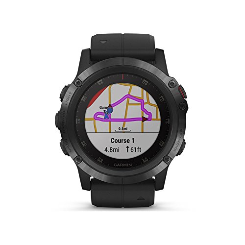 Garmin Tactix Charlie vs Fenix 5x Plus