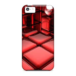 Ideal Adamfy11 Case Cover For Iphone 5c(3d Cube), Protective Stylish Case