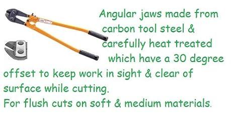 MCC High Quality 12u0026quot; Inch Bolt Cutter  ANGLE CUTTER   Cutting  Capacity:1