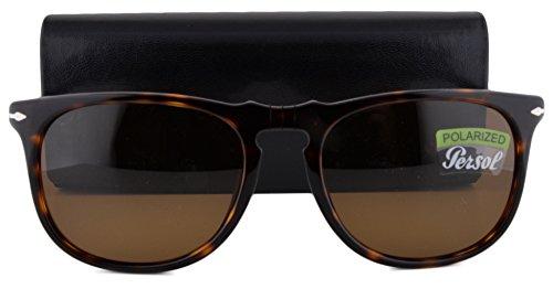 Persol PO3113S Sunglasses Havana w/Polarized Brown Lens 24/57 PO - Persol Sunglasses Polarized Sale