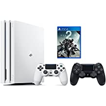 PS4 Destiny 2 Bundle (2 Items): PlayStation 4 Pro 1TB Limited Edition Console - Destiny 2 Bundle and an Extra DualShock 4 Wireless Controller for Playstation 4 - Jet Black