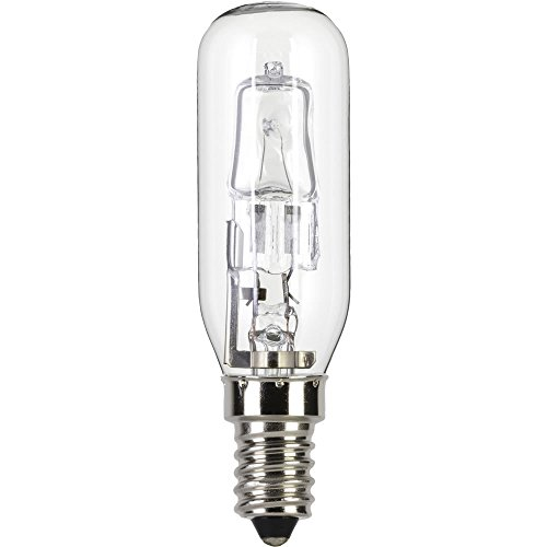240v 30w = 40w ECO Halogen lamp for use within a AEG cooker hood / chimney. 240v. SES (E14) Small Edison Screw. Energy saving light bulb (Aeg Cooker Hoods)