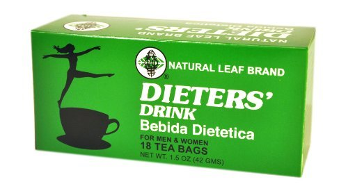Natural Leaf Brand Dieters' Tea Drink, 18-Count