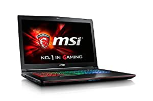"MSI GE72 Apache Pro-070 17.3"" SLIM AND LIGHT GAMING LAPTOP NOTEBOOK i7-6700HQ Geforce GTX970M 16G 128GB SSD + 1TB WIN 10"