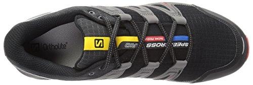Speedcross 3 Magnet Salomon Traillaufschuhe Fiery Black Red Vario EU 49 Herren Schwarz Blau 5nZZwfAq