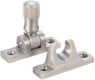 Satin Chrome Plate Non-locking Fulton /& Bray Brighton Sash Fastener