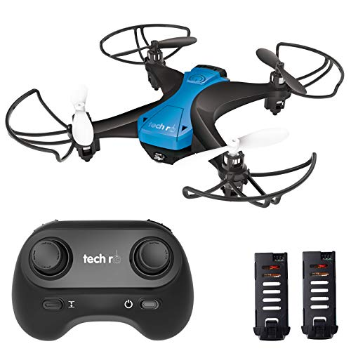 tech rc Mini Drone for Kids, Long Flight Time RC Drone with 2 Batteries, Fun for Play with 3D Flips, Auto Hovering, Headless Mode, One-Key Take Off/Landing, Easy Fly Toy Drone for Kids and Beginners