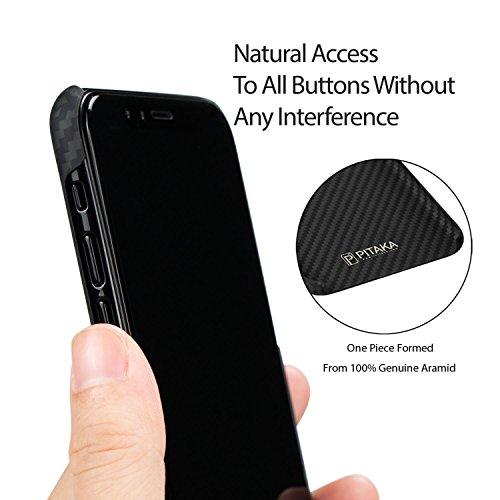 buy online 9da69 c1678 PITAKA Slim Case Compatible with iPhone X 5.8