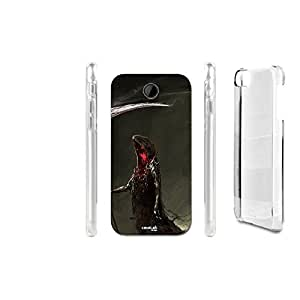 FUNDA CARCASA BLACK DEATH PARA HTC DESIRE 300