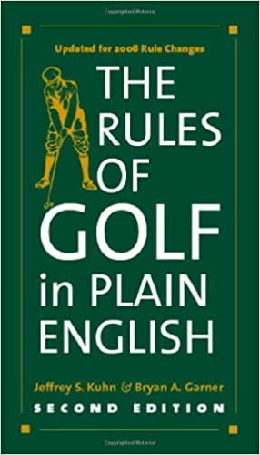 Book The Rules of Golf in Plain English