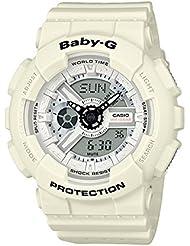 Casio Baby-G BA110PP-7A Punching Pattern Series Analog Digital White Watch