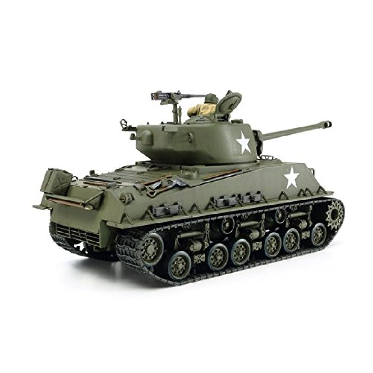 [해외] 퍼터미야 1/35 밀리터리 미니어쳐 시리즈 NO.346 미국 육군 전차 M4A3E8 샤먼 이지 에이트 유럽 전선 프라모델  35346