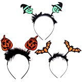 KESYOO 3 Pcs Fantasia Vestido de Festa Halloween Crianças Acessórios Mascarada Hairbands Ferramentas de Festa para Decoração de Adultos Crianças Festa