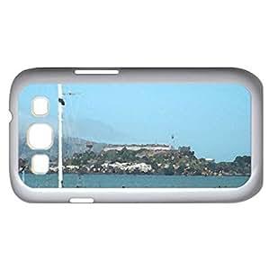 Alcatraz Prison - Watercolor style - Case Cover For Samsung Galaxy S3 i9300 (White)