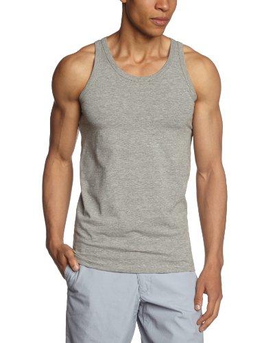 JACK & JONES BASIC TANK TOP 1-2-3 2014 NOOS - Camiseta de tirantes para hombre Gris (Light Grey Melange BS)
