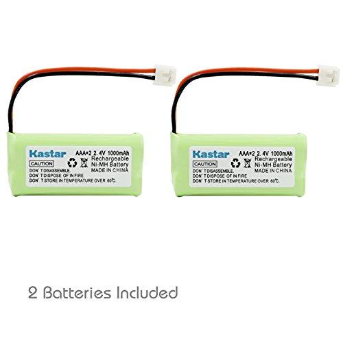Kastar 2-Pack Replacement Battery for Vtech 8300 / BATT-6010 / BT18433 / BT184342 / BT28433 / BT284342 / 89-1326-00-00 / CPH-515D / CS6209 / CS6219 / CS6229 VT-6042 / VT-6052 / VT-6053 Cordless Phone Vtech Ls6204 Accessory Handset