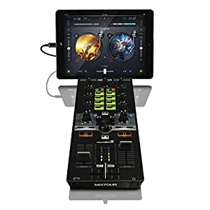 Reloop MIXTOUR All-In-One Controller-Audio Interface for iOS/Andriod/Mac for DJAY