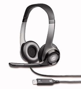 Logitech H530 - Auriculares con conector USB, color negro