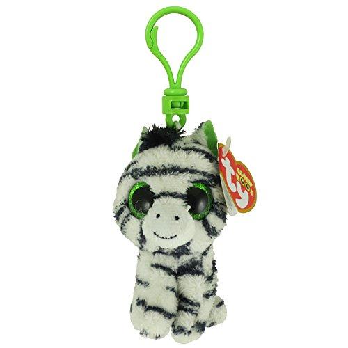 Beanie Boos - ZIG-ZAG the Zebra (Glitter Eyes) (Plastic K...