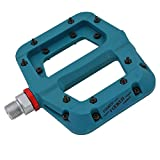 #5: FOOKER MTB Bike pedal Nylon Composite 9/16 Mountain Bike Pedals High-Strength Non-Slip Bicycle Pedals Surface For Road BMX MTB Fixie Bikes Needle Roller Bearing