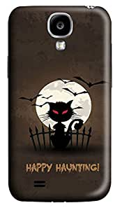 S4 Case, Samsung S4 Case, Customized Protective Samsung Galaxy S4 Hard 3D Cases - Personalized Halloween 02 Cover