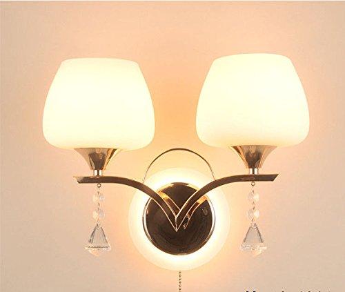 Wlxsx Moderne Chinesische Einfache Wand Lampe Schlafzimmer Vorraum Wohnzimmer Wandleuchte