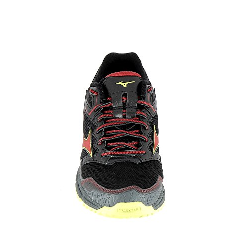 Mizuno Daichi Hombre jaune Wave Running rouge Zapatillas De Noir Para 3 rOrx10q