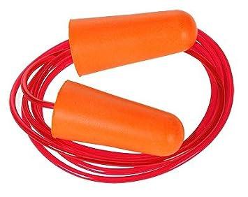 Portwest EP08 - Con cable espuma de poliuretano enchufe de oído (200), color naranja: Amazon.es: Industria, empresas y ciencia