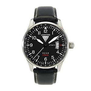 Junkers Reloj Analógico Automático para Hombre con Correa de Piel – 66642