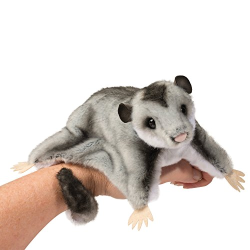 Douglas Cuddle Toy Squeek Sugar Glider 12