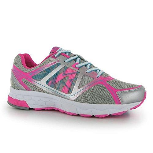 Up Tempo Lace de Léger Femme Silv Pink 4 Sport Chaussures White Course Chaussures nbsp;Mesdames Karrimor qnv1H55