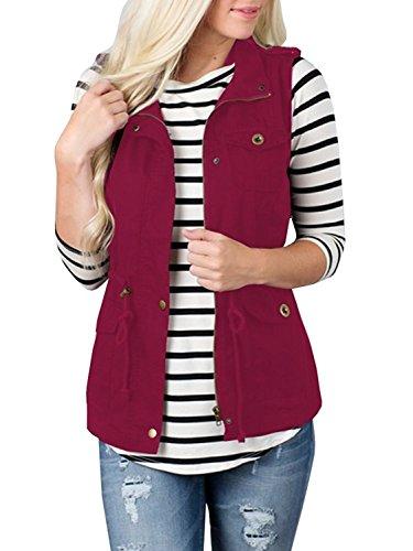 Zipper Womens Vest - 6