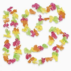 Bright Neon Leis - Vacation Bible School & Luau