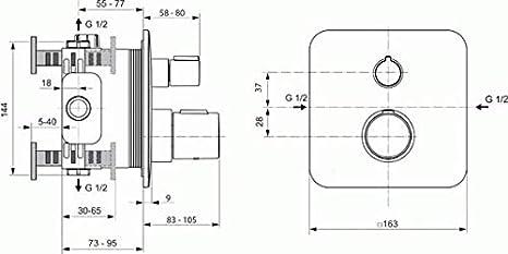 A6345AA Ideal Standard Tonic Ii Term Empot B//D