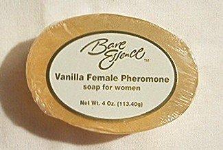 Bare Essence de vanille Femme phéromone Savon pour les femmes, 4 Oz (2 bars)