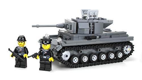 Set Army Deluxe - Battle Brick Deluxe German Panzer IV Custom Set