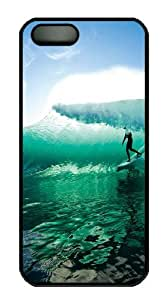 Wave Surfing PC Case Cover for iPhone 6 4.7 and iPhone 6 4.7 Black