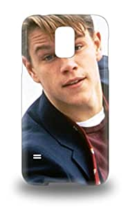 Extreme Impact Protector Matt Damon American Male Good Will Hunting 3D PC Case Cover For Galaxy S5 ( Custom Picture iPhone 6, iPhone 6 PLUS, iPhone 5, iPhone 5S, iPhone 5C, iPhone 4, iPhone 4S,Galaxy S6,Galaxy S5,Galaxy S4,Galaxy S3,Note 3,iPad Mini-Mini 2,iPad Air )